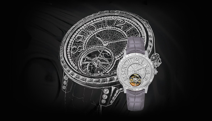 Diamond Baguette Tourbillon
