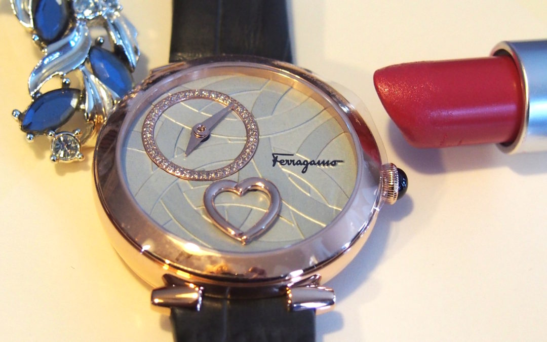 Cuore by Ferragamo is a Feminine Watch With a Heart That Beats on the Dial