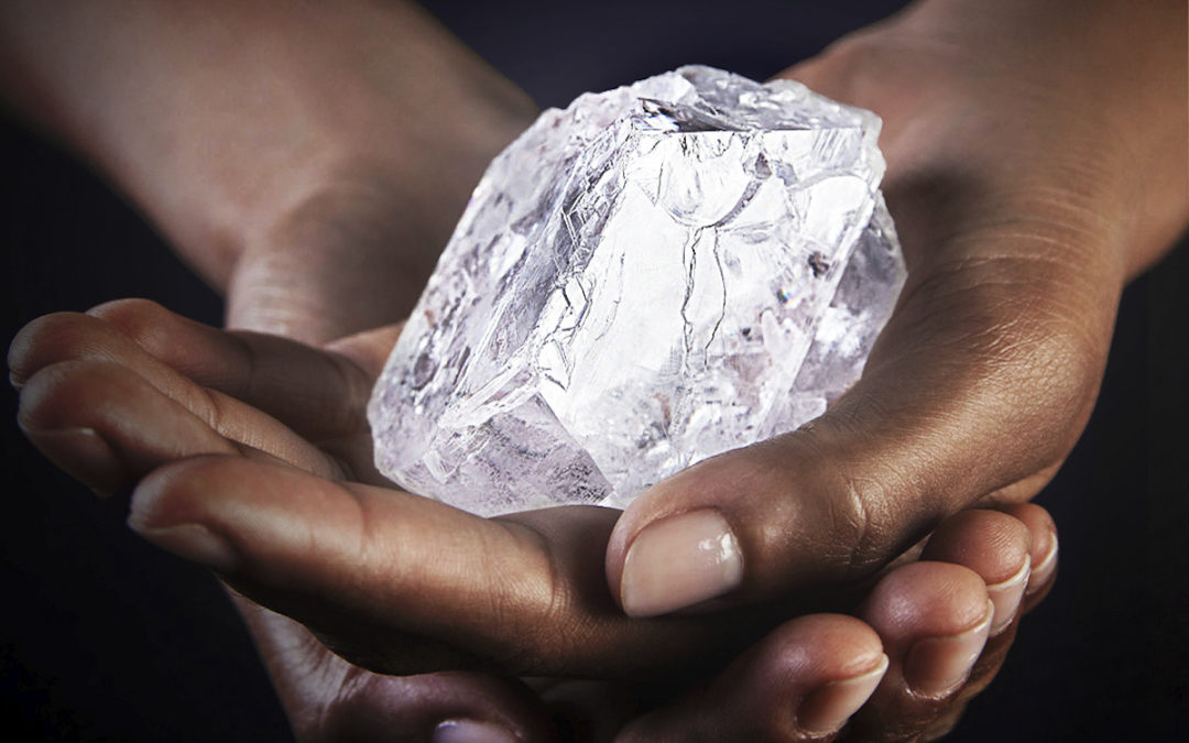Graff Diamonds Cuts 1,109-carat Lesedi La Rona Diamond — First Results Here